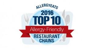 AllergyEats 2016 Top 10 Chains List