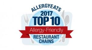 AllergEats 2017 Top 10 Allergy-Friendly Restaurant Chains