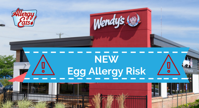 New Egg Allergy Risk at Wendy's