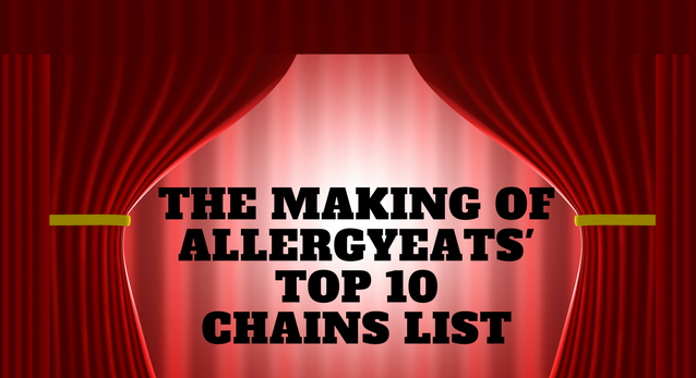 The Making of AllergyEats' Top 10 Chains List