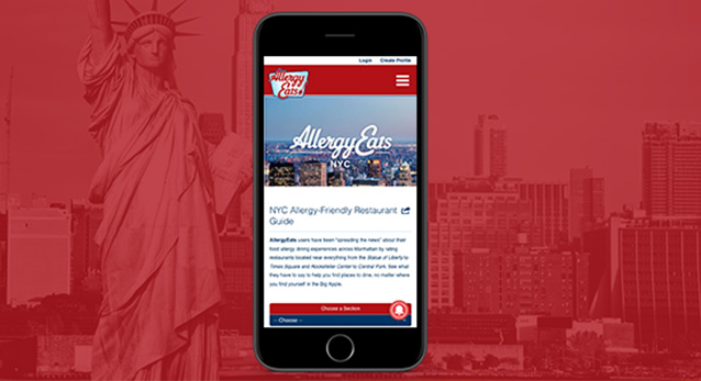 Introducing AllergyEats NYC: Finding Bites Near Popular Sites
