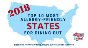 Top 10 Most Allergy-Friendly States for Dining Out