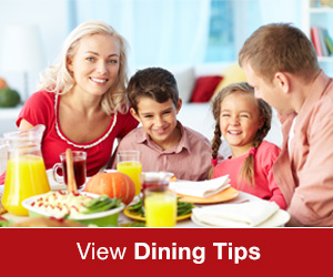 View Dining Tips