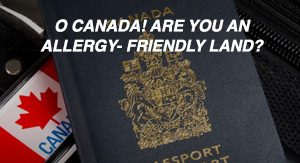 Image of Canadian passport: allergy-friendly land?