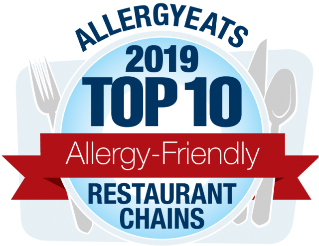 Top 10 Most Allergy Friendly Restaurant Chains in America