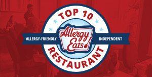 AllergyEats Top 10 Allergy-Friendly Independent Restaurants
