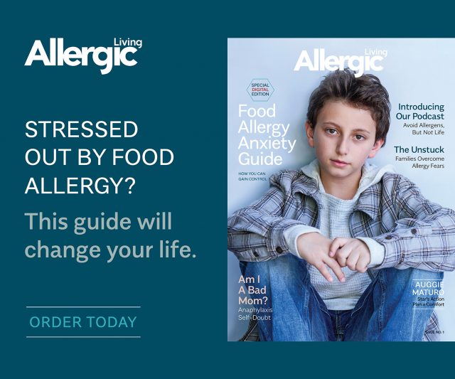 Allergic Living Food Allergy Anxiety Guide