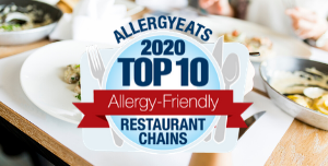 2020 Top 10 most allergy friendly restaurant chains